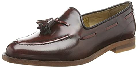 Hudson London Stanford, Mocassins femme, Violet (Bordo), 37 EU