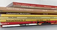 NCERT Political Science Books Set of Class - 6 TO 12 (ENGLISH MEDIUM) for UPSC Prelims/Main / IAS / Civil Serv