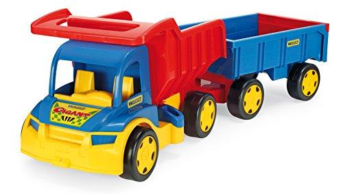 Preisvergleich Produktbild Wader 65100 - Gigant Truck mit Handwagen im Karton