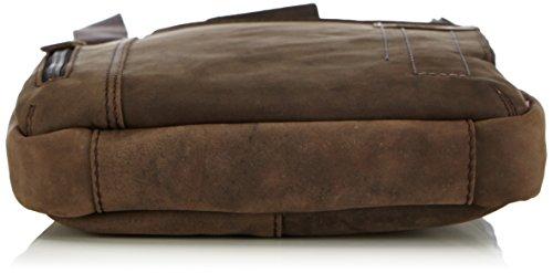 Strellson Richmond ShoulderBag SV 4010001455 Herren Schultertaschen 22x25x4 cm (B x H x T) Braun (dark brown 702)