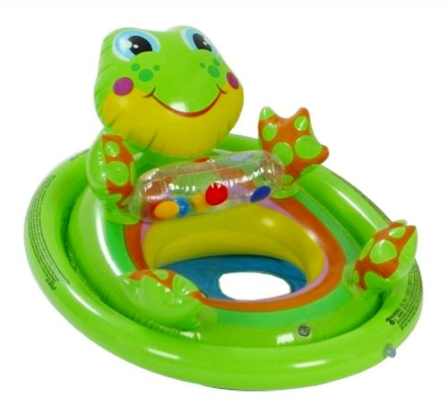 Intex Inflatable See Me Sit Pool Ride, Multi Color