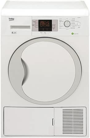 Beko DPU8304 Autonome Charge avant 8kg A+ Blanc - sèche-linge (Autonome, Charge avant, Pompe à chaleur, Blanc, boutons, Rotatif, Droite)