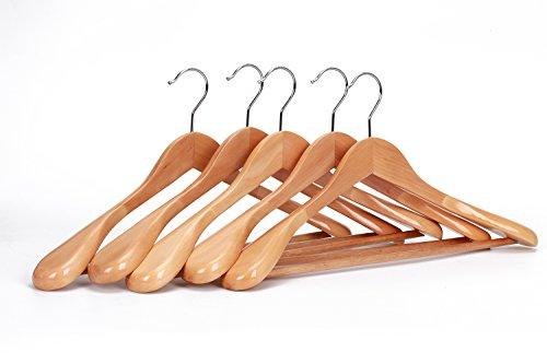 J.S. Hanger grucce per abiti, in legno