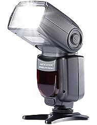 Neewer® NW562/MK930 GN58 Speedlite Flash para Canon Nikon Panasonic Olympus Fujifilm Pentax Sigma Minolta Leica y otras SLR cámaras SLR Digital SLR película y cámaras digitales con Solo contacto Zapata