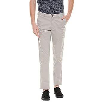 Color Plus Mens 4 Pocket Slub Trousers