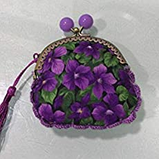 Monedero hecho a mano tela hadas rosa: Amazon.es: Handmade