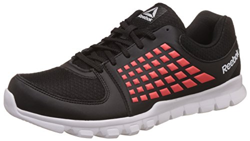 2. Reebok Men's Electrify Speed Lp Blk/Atomic Red/Wht Running Shoes