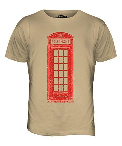 CandyMix Telefonzelle Herren T Shirt Sand