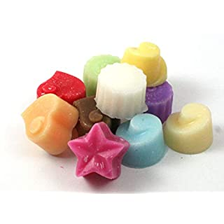 Handmade Premium Quality Highly Scented Wax Melts for Oil Burners. 10 x 5g Melts in each pack (Assorted Scents) by Unknown