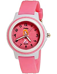 Vizion Analog Pink Dial (CINDERELLA-The Pink Shoes Princess) Cartoon Character Watch for Kids-V-8829-5-1
