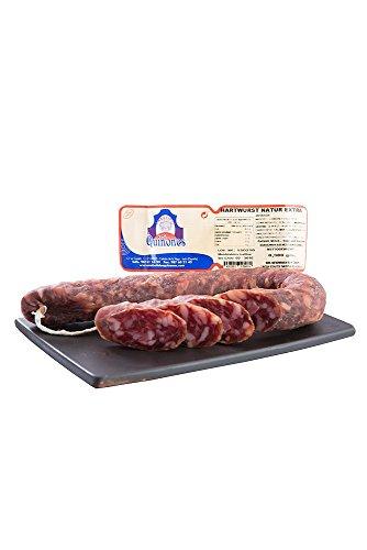 Quiñones Longaniza Extra Natur - Spanische Hartwurst (1 x 380 g)