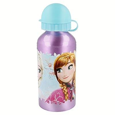 Disney Frozen Botella cantimplora Aluminio pequeña 400 ml (STOR 86834) de Stor