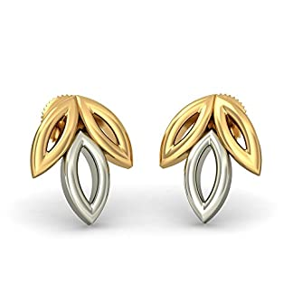 BlueStone 22k (916) Yellow Gold Ranya Stud Earrings