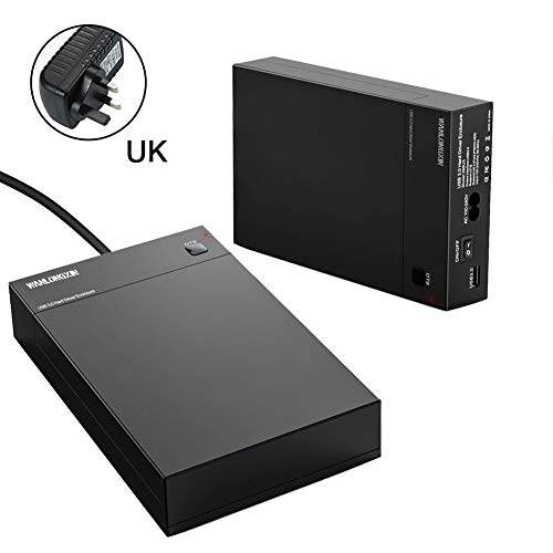Finelyty Caja de Disco Duro USB 3.0 2.5
