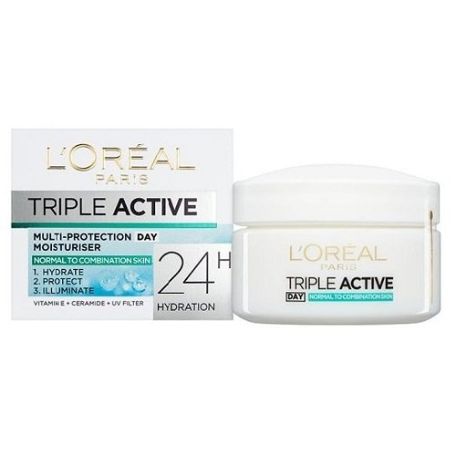 L'Oreal Dermo-Expertise Triple Active Day Moisturiser (Normal/Comb) 50ml