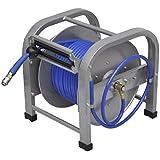 Dévidoir enrouleur de tuyau pneumatique portable 30 m