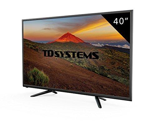 TV 40 Pouces HD LED TD Systems K40DLT7F. Téléviseur Full HD, 3x HDMI, VGA, USB Lecteur et...