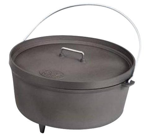 Gsi Outdoors 14-Inch Hard Anodized Dutch Oven