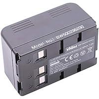f/ür Kamera Camcorder Video Blaupunkt CC-664 CC-684 4.8V SC-634 SCR-250 wie VW-VBS10 CC-695 vhbw NiMH Akku 3600mAh VW-VBS40. SC-625 VW-VBS20