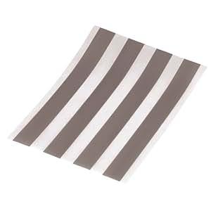 Hama 4 Bandes adhésives de glisse pour souris 10 cm x 1 cm Améliore la glisse des souris sur les tapis de souris Augmente la durée de vie des tapis de souris très facile à ajuster Autocollant