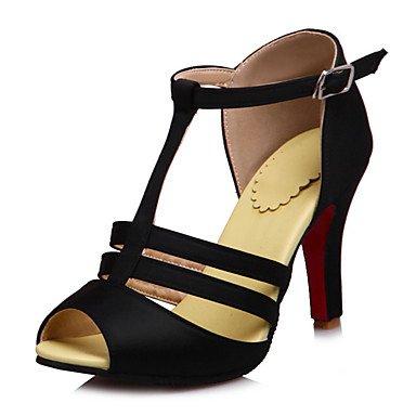 CH&TOU Da donna-Sandali-Ufficio e lavoro Formale Serata e festa-Altro-A stiletto-Finta pelle-Nero Rosso Bianco Giallo chiaro Black