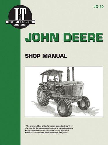 John Deere Shop Manual 4030 4230 4430&4630 (Jd-50) - Jd John Deere