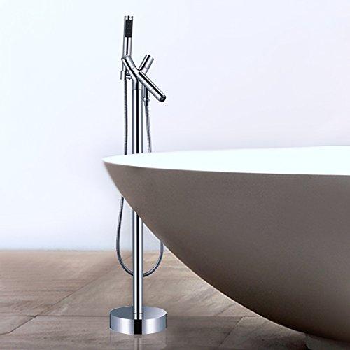 puro rame Miscelatore vasca/doccia/canna verticale che conduce/Piano
