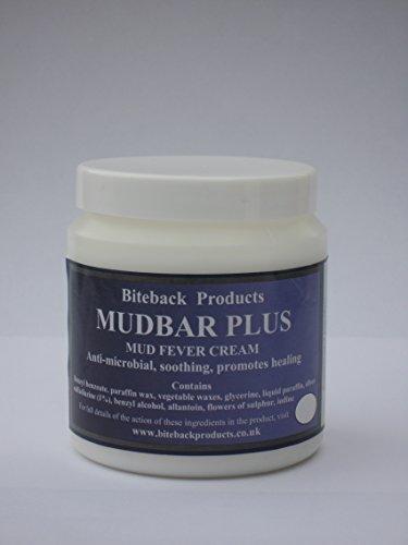 Biteback Products 'Mudbar Plus' ™ Crema para el cuidado de la piel para condiciones de la piel de barro/lluvia de caballos 250g