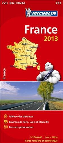 Mapa National Francia. Atlas (librete) (KAARTEN/CARTES MICHELIN)