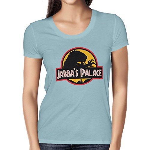 NERDO - Jabba's Palace - Damen T-Shirt Hellblau