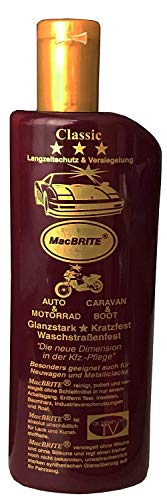 "1 Flasche Autopolitur ""MacBRITE"" Classic = 500ml, CarBRIGHT"