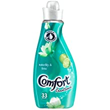 Comfort Creations Waterlily and Lime Fabric Conditioner, 55 Wash, 1.925 Litre, Pack of 4