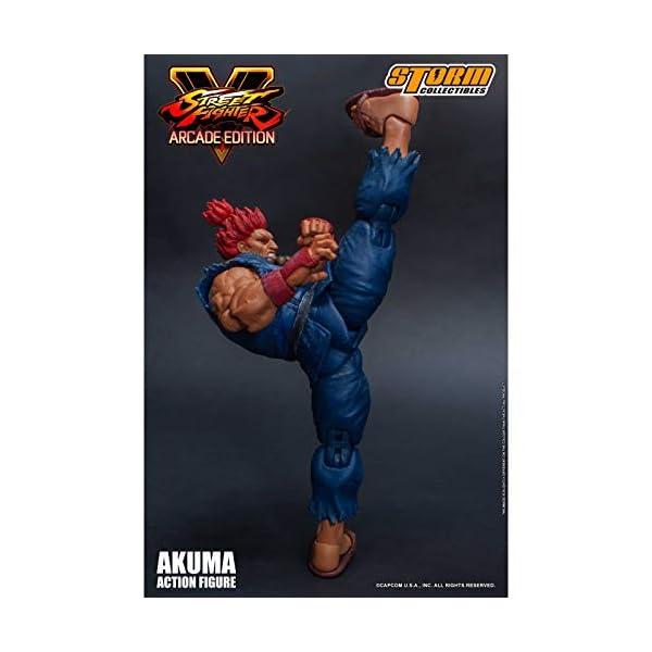 Storm Collectibles Street Fighter V Akuma Nostalgic Costume Arcade Edition Figura De Acción 1