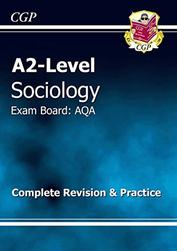 A2-level Sociology AQA Complete Revision & Practice Cover Image