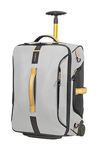 Paradiver light borsa da viaggio con ruota 55cm grigia/gialla