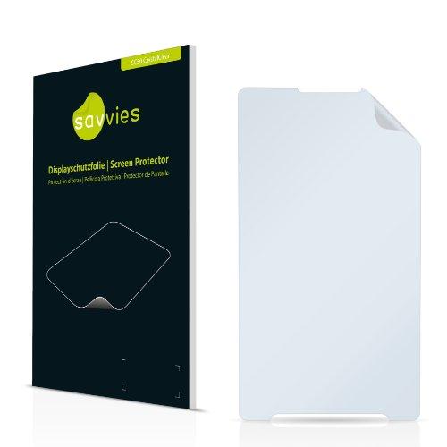 Savvies SC50 Displayschutzfolie passend für Samsung SGH-X520 Schutzfolie Folie