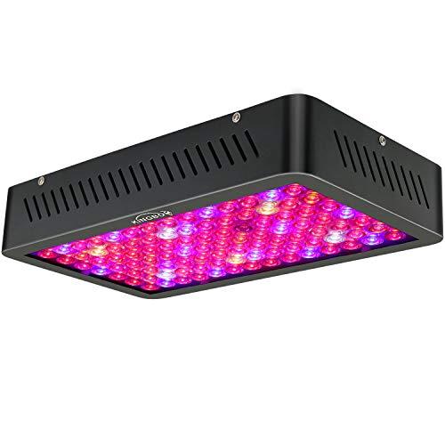 KINGBO LED Grow Light 1000W Doppelter Chip DREI Chip LED Grow Lampe Beleuchtung Vollspektrum für Hydroponik Zimmerpflanzen Wachstum Blumen und Gemüse