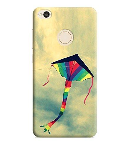 Printvisa Kites Patang Colorful Makar Sankranti Designer Hard Back Case For Redmi 4