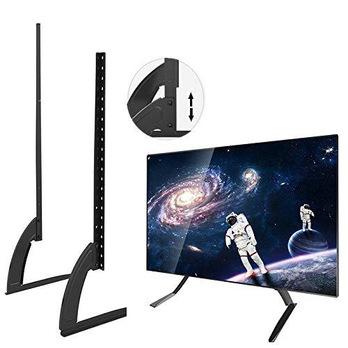 Nunlky Tablethülle 35-72-Zoll-Installation höhenverstellbar, allgemeine Desktop-Installation eines LCD-Flachbildfernsehers (schwarz) -