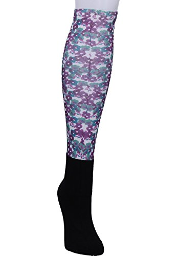 Noble Outfitters OVER THE CALF PEDDIES violet-floral, Strümpfe mehrfarbig / bunt