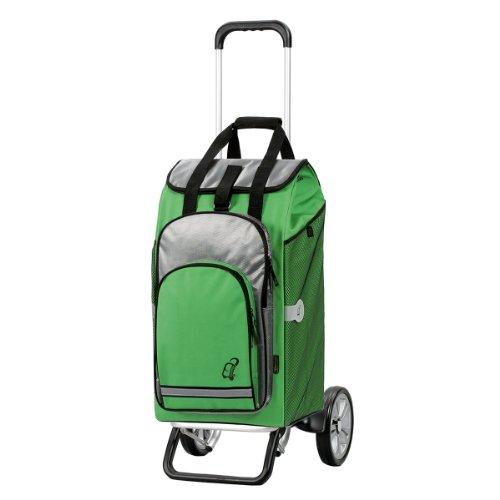 Andersen Shopper Alu Star und 60 Liter Einkaufstasche Hydro grün mit Kühlfach