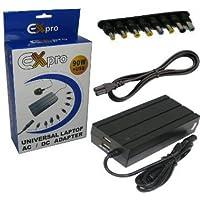 EX-Pro NOTEBOOK Netzteil AC Adapter, cavo di rete, 90W, impostazione uscita tensione compatibile con HP Compaq Presario 280018.5V 3.5A