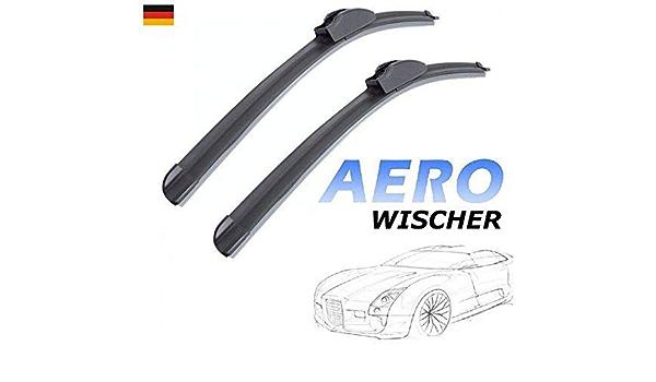 600mm 400mm Good Wiper Aero 2x Front Scheibenwischer Flachbalkenwischer Mit Hakenbefestigung Wischerblätter Set Für Auto Frontscheibe Inion Auto