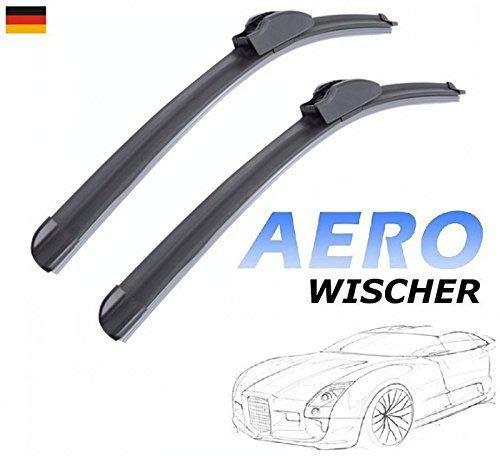 500mm 450mm GOOD WIPER AERO 2x Front Scheibenwischer Flachbalkenwischer mit Hakenbefestigung Wischerblätter Set für Auto Frontscheibe INION