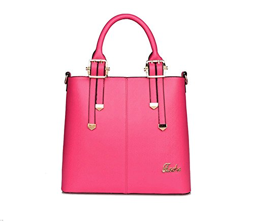 VOLSGEAT Borsa Messenger, Red (rosso) - A12F Pink