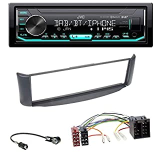 caraudio24-JVC-KD-X451DBT-DAB-Bluetooth-MP3-USB-Autoradio-fr-Smart-ForTwo-450-grau-ohne-Metallschacht