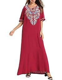 Vestidos Arabes Kaftan Jalabiya Mujer - Abaya Dubai Ropa Islámica Mangas Musulmán Maxi ...