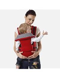 2d07a988d Seguro para recién nacidos Tienda de hadas 0-36 meses Mochila para bebés  honda cara a cara Momia bolso de mimbre ergonómico Multifuncional…