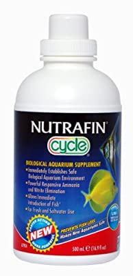 Supplément Biologique Cycle pour Aquariums Nutrafin 500 ml