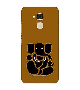 PrintVisa Designer Back Case Cover for Asus Zenfone 3 Deluxe ZS570KL (5.7 Inches) (Avaneesh Balaganapati Balachandra Buddhinath Buddhipriya Chaturbhuj)